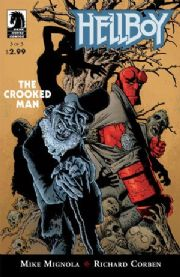 Hellboy The Crooked Man #3 (2008) Mike Mignola Dark Horse comic book